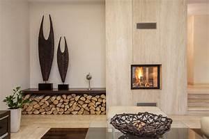 Holz Für Kamin : w nde mit holz gestalten ideen alternativen wandtrends ~ Markanthonyermac.com Haus und Dekorationen
