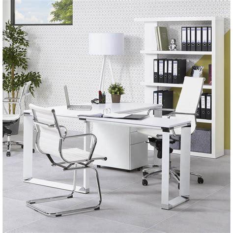 bureau dangle design corporate en bois noir