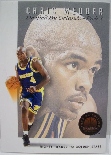 Check spelling or type a new query. 1993-94 Skybox Premium Chris Webber Draft Picks Rookie Insert Card # DP1   eBay