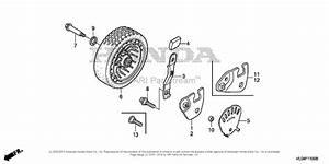 Honda Hrr216k6 Vkaa Lawn Mower  Usa  Vin  Mzcg