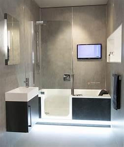 Badewanne Mit Dusche Integriert : komplettes bad auf ganz wenig raum mit badewanne und dusche in einem dank twinline 2 ~ Sanjose-hotels-ca.com Haus und Dekorationen