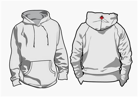 Hoodie Template Kabal Workstation Corporate Identity 8 Hoodie Designs