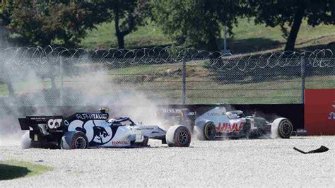 Il pilota svizzero in ospedale. GP Mugello: Giovanazzi tampona Magnussen, incidente in rettilineo | Video