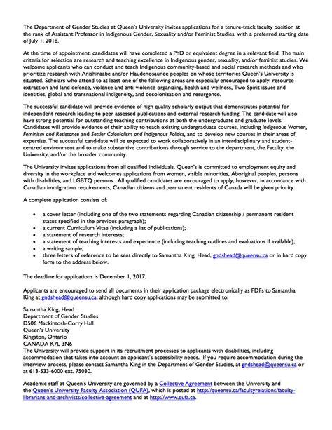 feminist cover letter cover letter canada immigration tomyumtumweb