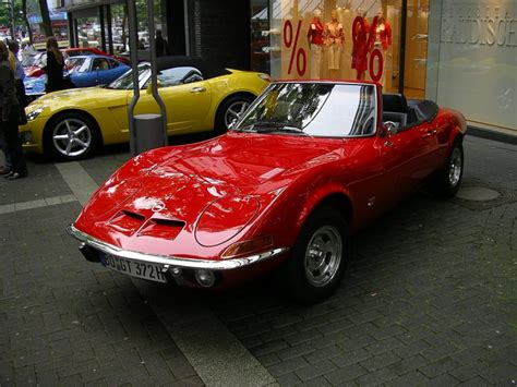 Opel Gt Convertible by They Made A Convertible Of That Retro Rides