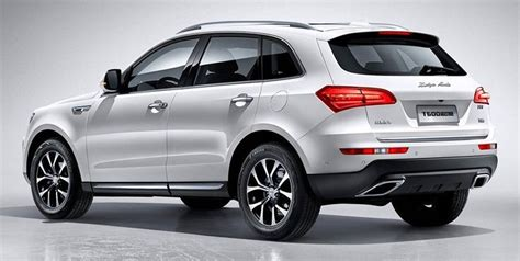 Zotye, which produces the SR8 Porsche Macan copy cat, will ...