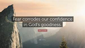 Max Lucado Quot... God And Confidence Quotes