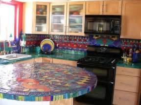unique kitchen countertop ideas 30 unique kitchen countertops of different materials digsdigs