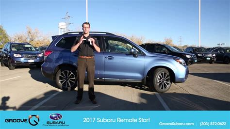 How Using The New Subaru Remote Start System