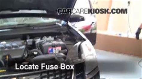 interior fuse box location   nissan sentra