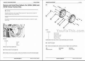 John Deere 5050e 5055e 5065e 5075e Repair Manual  Tractor