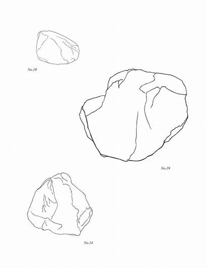 Coloring Rock Pages Rocks Printable Sheets Template