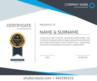 certificate template images stock  vectors