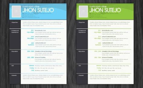 photoshop resume template photoshop resume template learnhowtoloseweight net