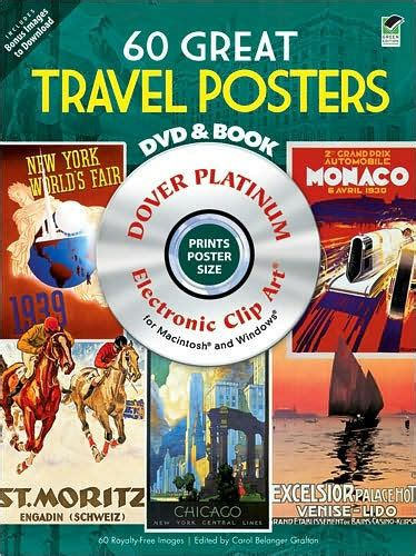 Barnes And Noble Dvd by 60 Great Travel Posters Platinum Dvd And Book By Carol