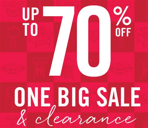 One Big Sale And Clearance Event At Pier 1 Nerdwallet