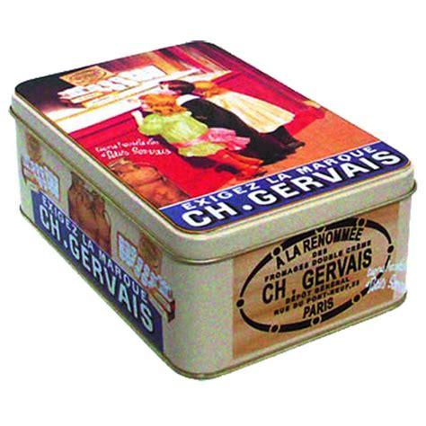 boite cuisine vintage boîte gervais déco publicité rétro vintage provence arômes tendance sud