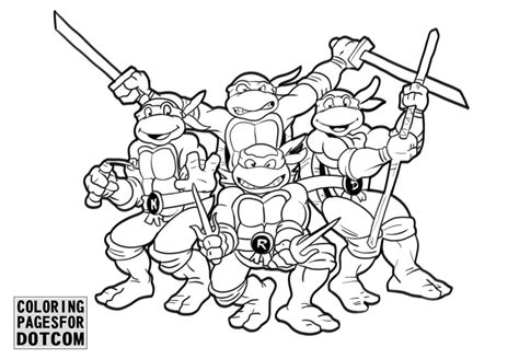 ninja turtles coloring pages  printable coloring book
