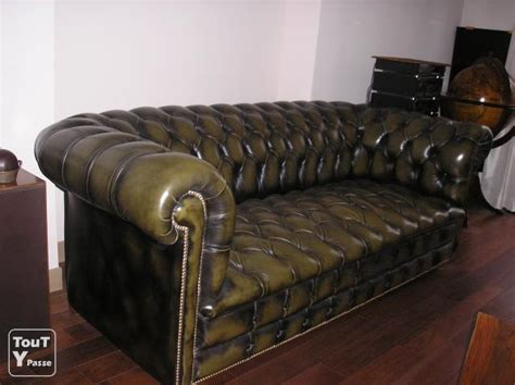 canape chesterfield occasion canape chesterfield