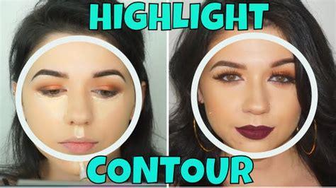 highlight  contour  face youtube