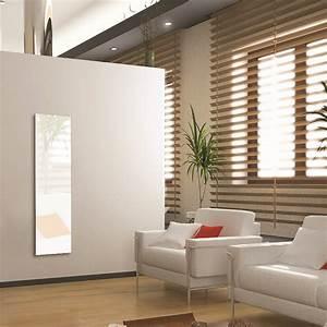 Radiateur Electrique Verre : radiateur verre tremp cosy art electrique blanc 1200w ~ Nature-et-papiers.com Idées de Décoration