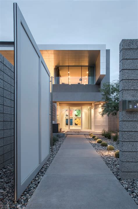 contemporary birds nest residence in scottsdale arizona