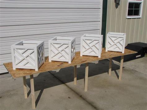 chippendale planter boxes  rangertracy  lumberjocks