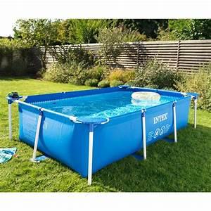 piscine hors sol tubulaire rectangulaire castorama With piscine autoportee rectangulaire intex 1 photo piscine bois hawai