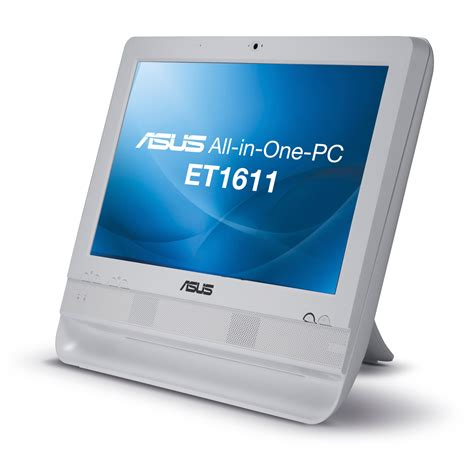pc bureau tactile asus eeetop pc et1611put w002e blanc pc de bureau asus