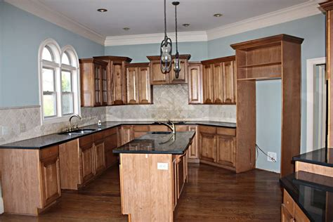 our current house wood kitchens trim work and