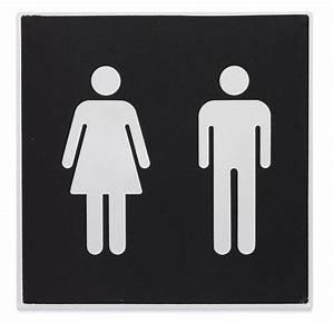 Sigle Homme Femme : plaque symbole toilettes homme femme direct signal tique ~ Melissatoandfro.com Idées de Décoration