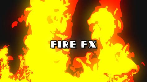 Cartoon Fire Fx Pack By Visionpro_studio