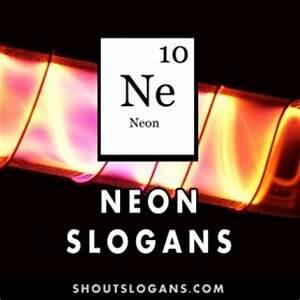 Neon Slogans