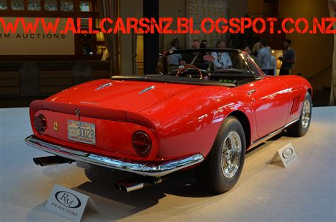 It is owned by james l. 1967 Ferrari 275 GTB-4 NART Spider