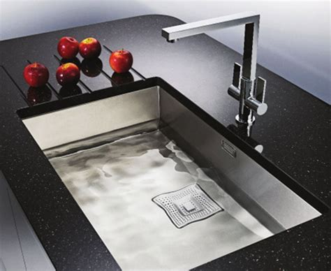 franke peak sink collection new luxury kitchen sinks for