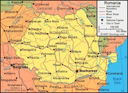 deva romania romania map romania satellite image