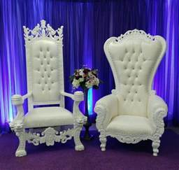 chair king and set white throne rentals shreveport