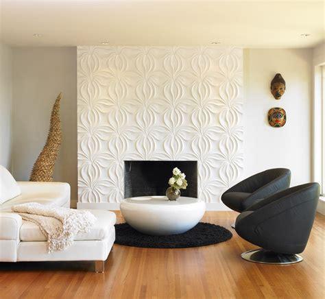 wall paneling ideas living room modern  textured