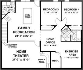 2 bedroom house plans with basement the creekstone 1123 2 bedrooms and 2 baths the house