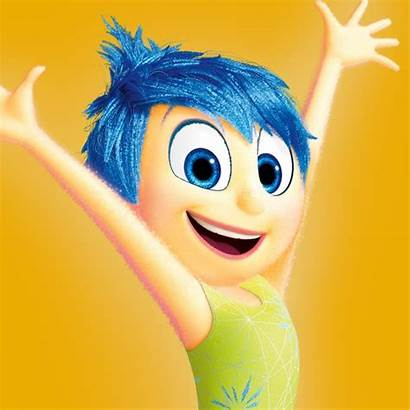 Joy Inside Disney Character Pixar Insideout Animated