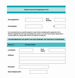 Application form templates 10 free word pdf documents download free premium templates for Application templates for word