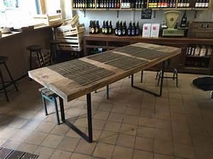 Pied De Table En épingle : pieds de table rectangulaires en acier plat pour table ~ Dailycaller-alerts.com Idées de Décoration