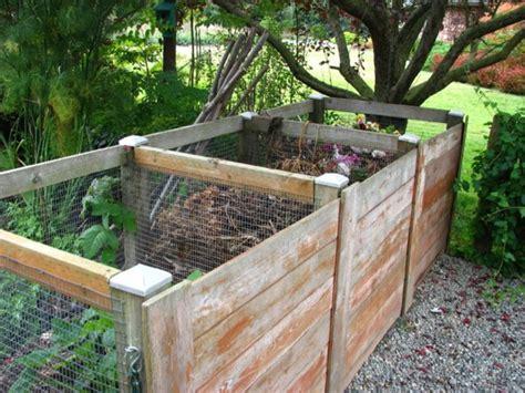 komposter selbst bauen komposter selber bauen anleitung in einfachen schritten