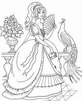 Peacock Coloring Pages Realistic Peacocks Princess Printable Adult Detailed Colouring Sheets Adults Animal Animals Coloringkidz Template sketch template