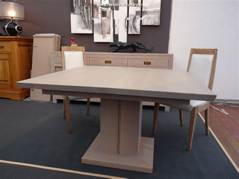 table haute carree 8 personnes table moderne en bois massif carr 233 e