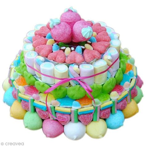 coffret cuisine réaliser un gâteau de bonbons idées et conseils