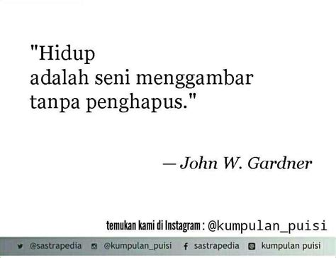 puisi pendek kumpulan puisi john  gardn indonesian