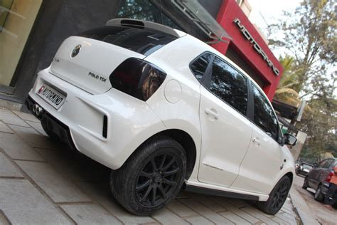 volkswagen polo white modified motormind