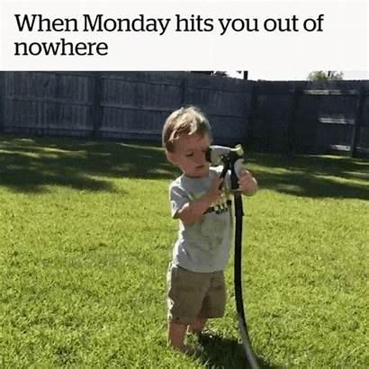 Monday Gifs Kid Spray Hose Mondays Hits