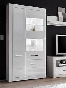 Standvitrine Weiß Hochglanz : vitrine standvitrine glasvitrine bianco 100cm wei wei ~ Watch28wear.com Haus und Dekorationen